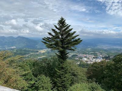 高根展望台からの景色