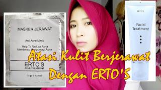 Ertos merupakan produk perawatan kulit professional dengan kualitas sangat baik dan sudah Manfaat, Kandungan Dan Cara Pakai Serum Kinclong Ertos