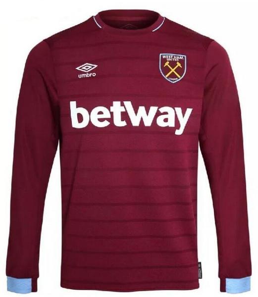 Replicas camisetas futbol 2018 2019  Equipacion Camiseta West Ham ... 4bb9d91ab601b