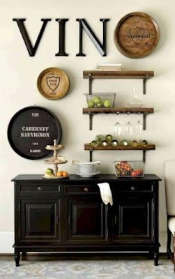 décorer des idées de mur de salle à manger