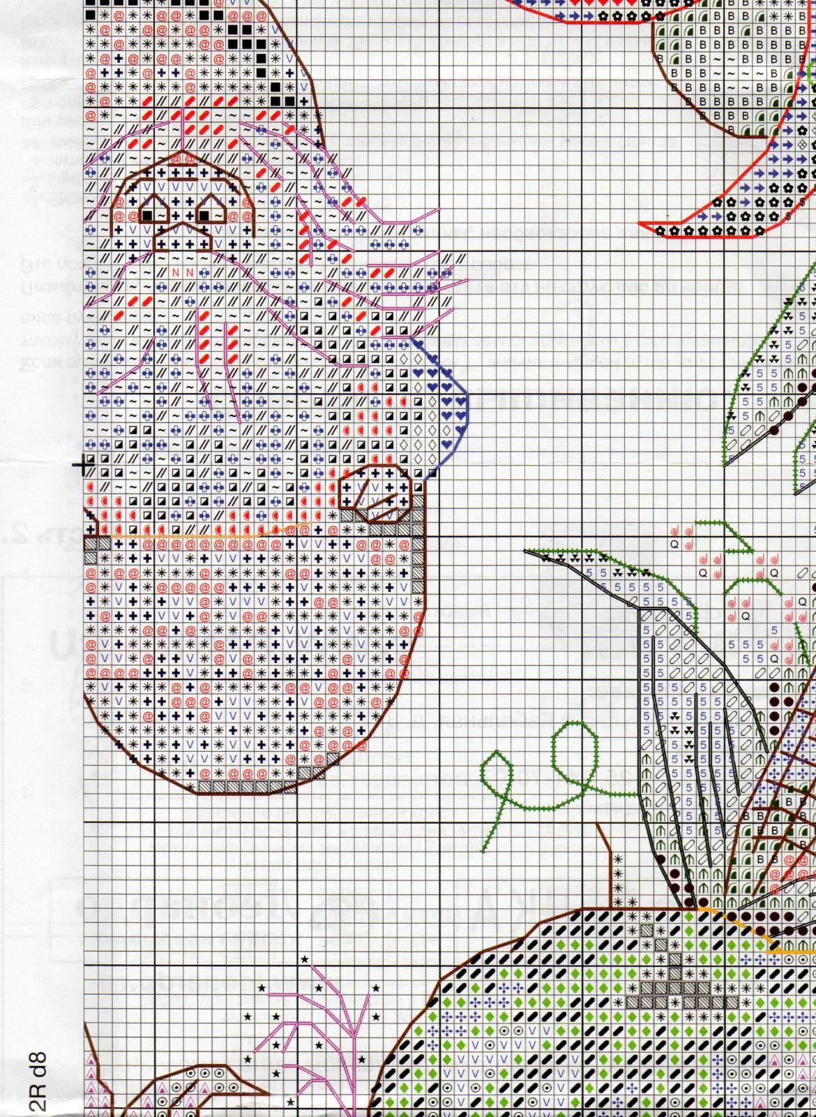 Венок изобилия. Схемы вышивки (15)