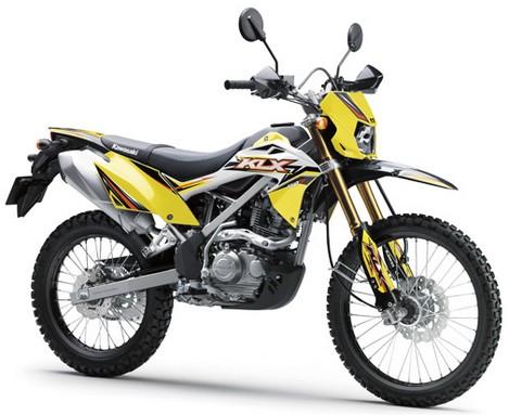 Motor Kawasaki KLX 150 BF SE Yellow