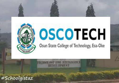 OSCOTECH ND/HND Admission Lists 2018/2019 is Out   Check here