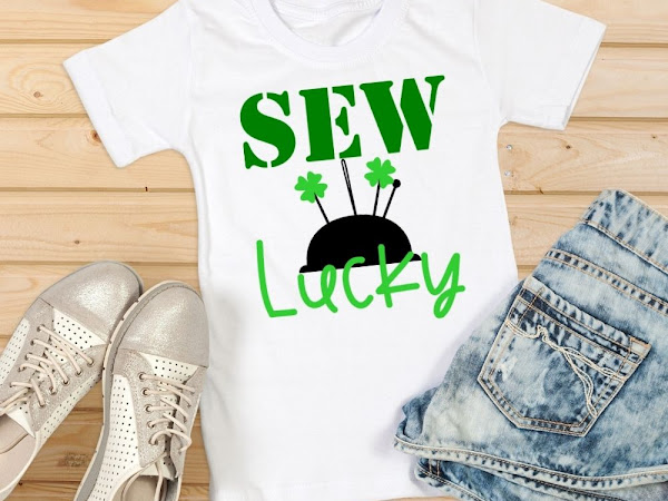 Sew Lucky SVG Cut File