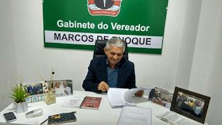 Vereador Marcos de Enoque vence a luta contra o Coronavírus e recebe alta