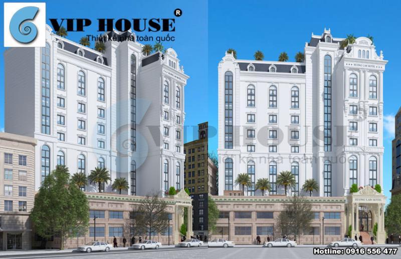 Hình ảnh: Cách thiết kế khéo léo xử lý tinh tế hình dáng khuôn viên đất của KTS Vip House tạo nên một khách sạn đẹp tại Quy Nhơn
