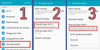 Cara Mengubah Jaringan 3G Ke 4G Pada Hp Samsung Grand Prime