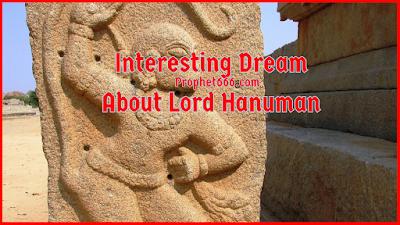 Interesting Dream About Lord Hanuman