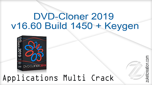 DVD-Cloner 2019 v16.60 Build 1450 + Keygen