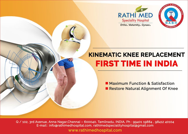 kinematic replacement first time in india
