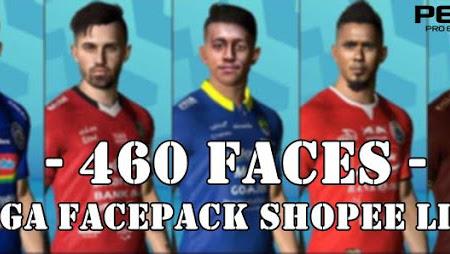PES 2017 Mega Facepack Shopee Liga 1 (460 Faces)