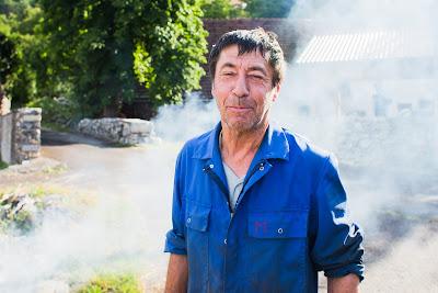 Portrait of vilage worker
