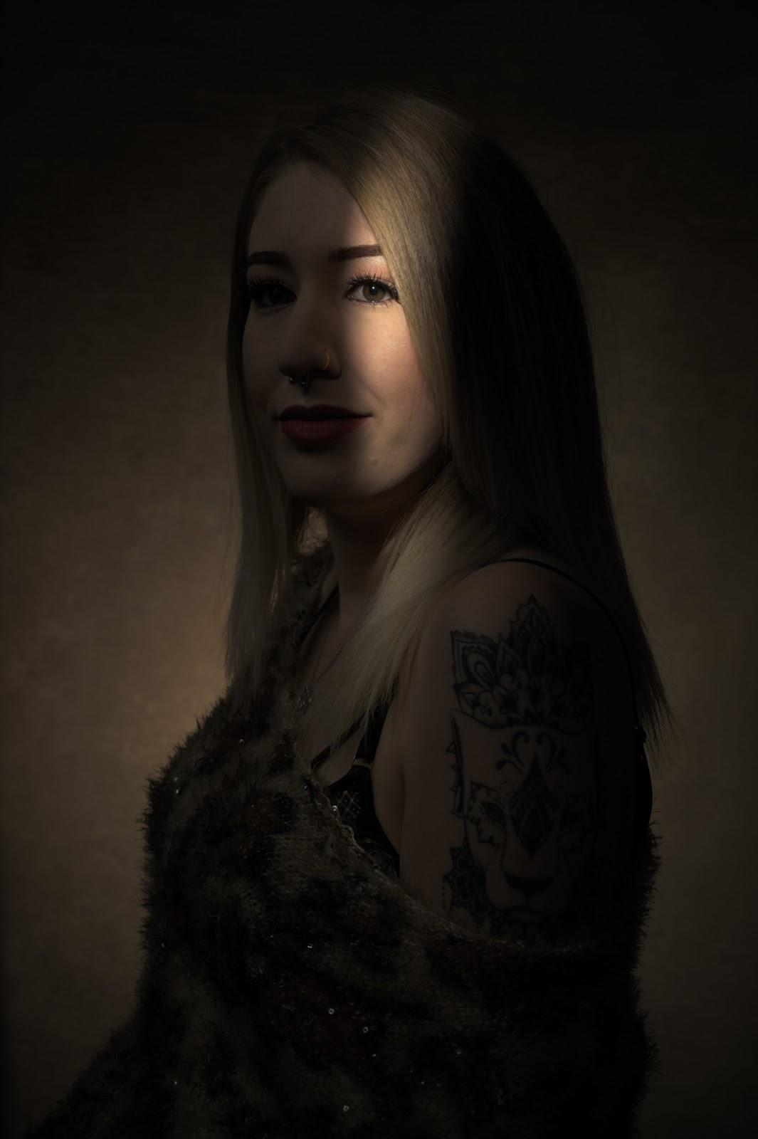 Portrait Lighting: Light, Shadow, Highlight.....