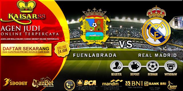 PREDIKSI BOLA DAN TEBAK SKOR  FUENLABRADA VS REAL MADRID 27 OKTOBER 2017