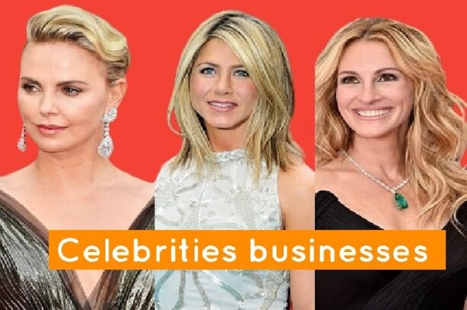 10 Celebrities businesses who are successful outside of their career which made them famous!