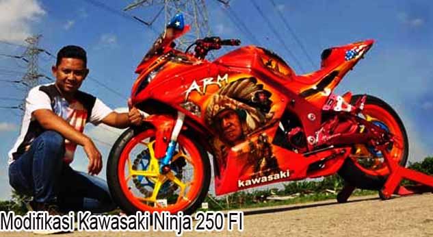 modif ninja 250 fi terbaik terbaru