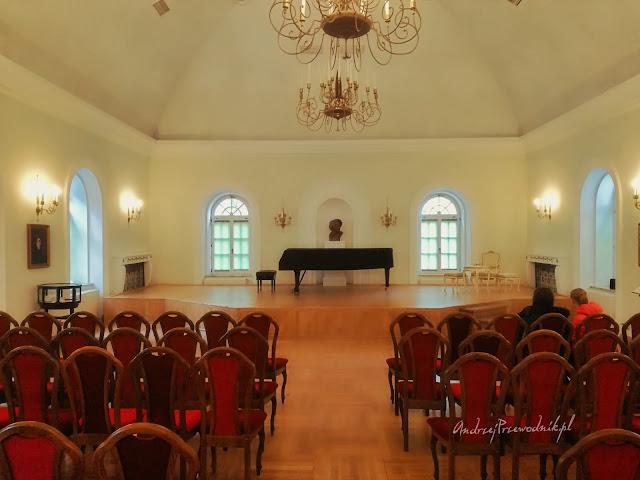 Duszniki Zdrój, Dworek Chopina, sala koncertowa