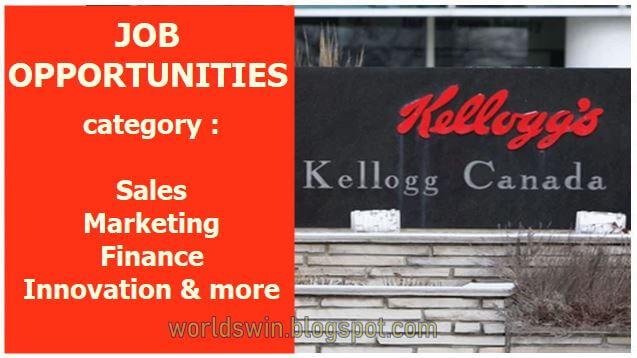 kellogg's  Canada work opportunities