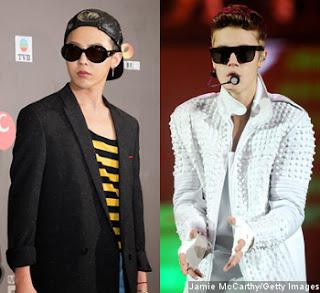 G-Dragon Bakal Luncurkan Kolaborasi Dengan Justin Bieber 2014