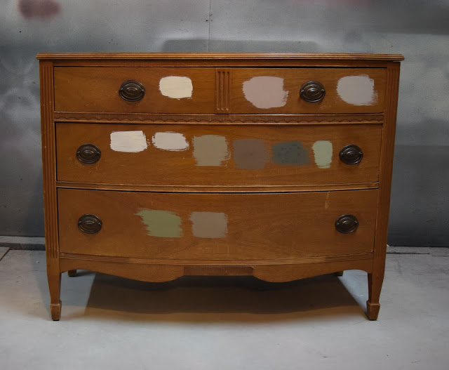 Sherwin Williams Cast Iron Dresser Color Matched by Country Chic Chalk Paint