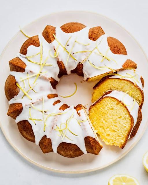 Easy Lemon Bundt Cake with Fresh Lemon Glaze