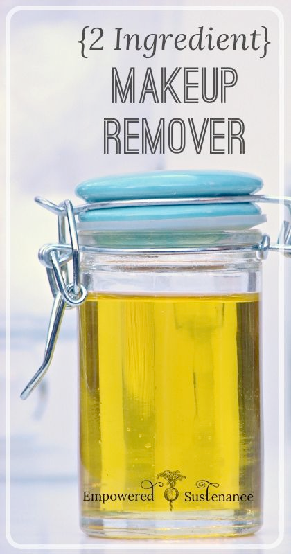 {2 Ingredient} DIY Makeup Remover