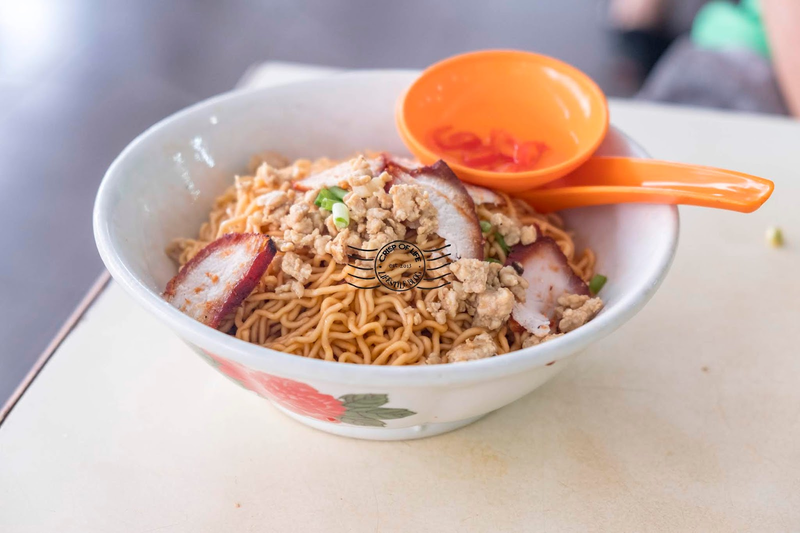 Sarawak Laksa @ Chong Choon Cafe, Kuching, Sarawak