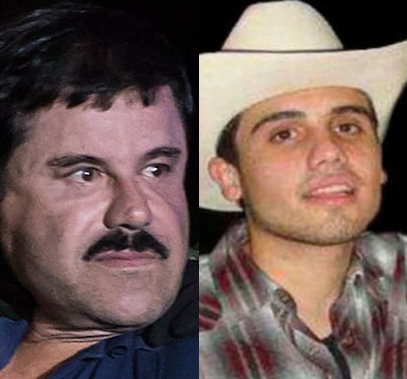 Photos/Video: El Chapo's son arrested leading to massive gun battle