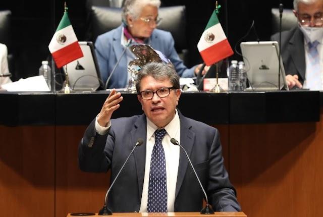 Tolerancia, apertura y flexibilidad, indispensables para evitar polarización y la parálisis legislativa: Ricardo Monreal.