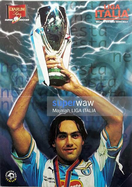 Poster Alessandro Nesta Lazio 1999