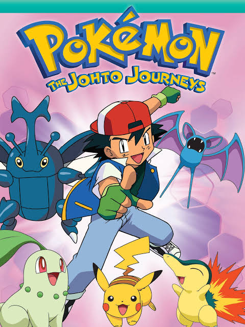 Pokemon season 03 Johto Journeys images in H.D