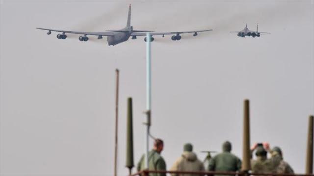 OTAN practica bombardeo masivo a 100 km de Rusia