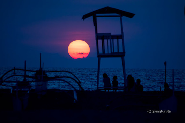 Sunset at San Miguel Beach Zambales