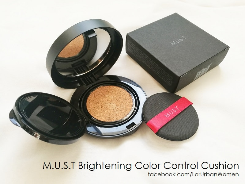 M.U.S.T Brightening Color Control Cushion