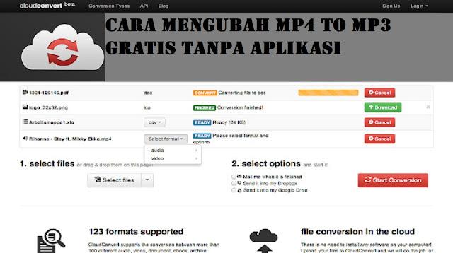 Convert MP4 To MP3 Gratis