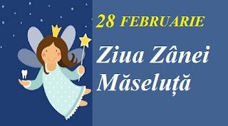 28 februarie: Ziua Zânei Măseluță