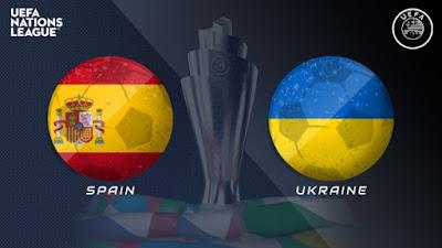 مشاهدة مباراة اسبانيا ضد اوكرانيا 13-10-2020 بث مباشر في دوري الامم الاوروبية