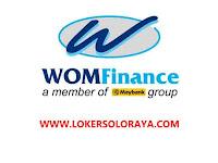 Loker Klaten, Solo & Wonogiri di WOM Finance Maret 2021
