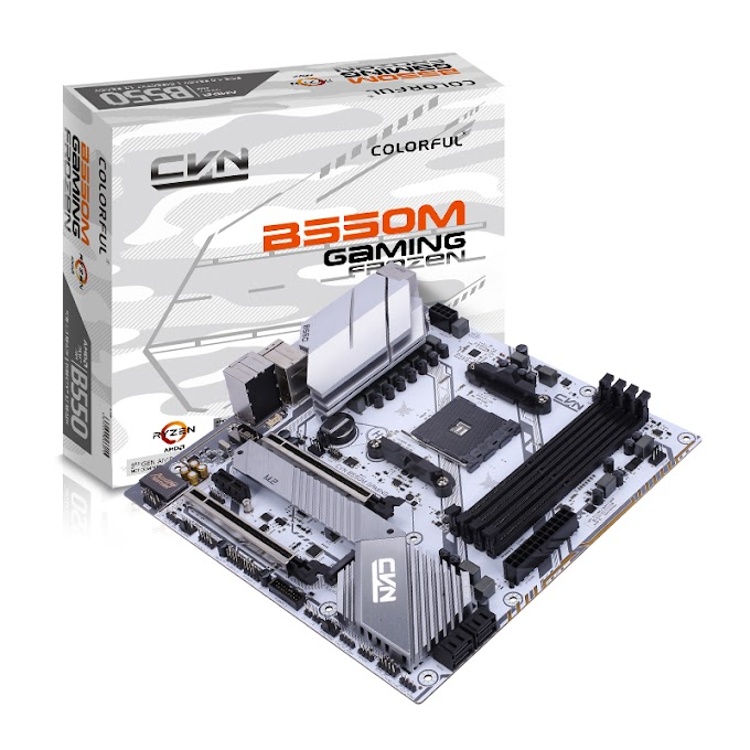 COLORFUL Reveals AMD B550 Mid-Tier Motherboards with PCI-Express 4.0 Support
