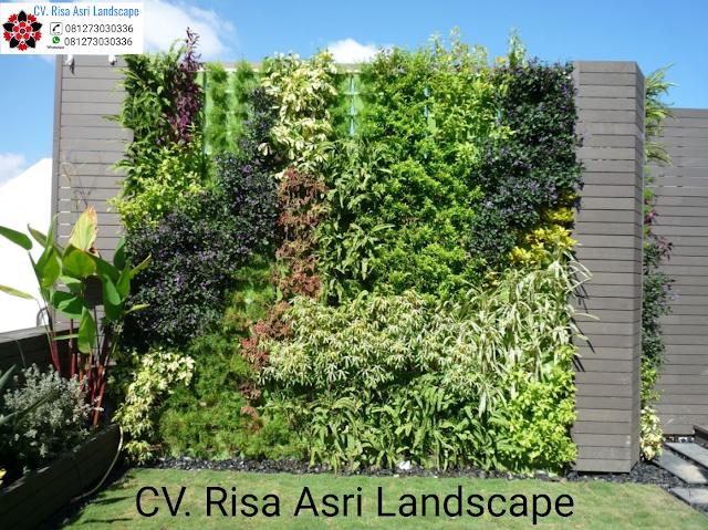 jasa pembuatan vertical garden (dinding hijau) di Sidoarjo