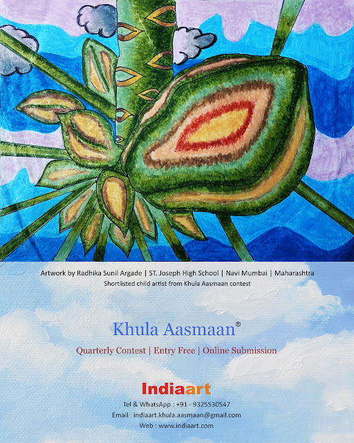 Khula Aasmaan shortlist - Radhika Argade of St. Joseph High School, Navi Mumbai