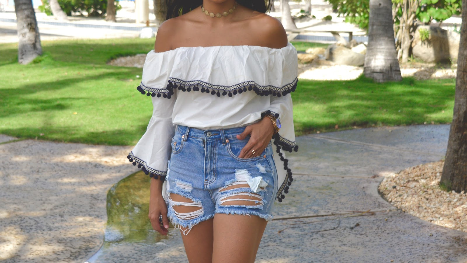 boho vibes off shoulder forever21 womens fashion aishly quay