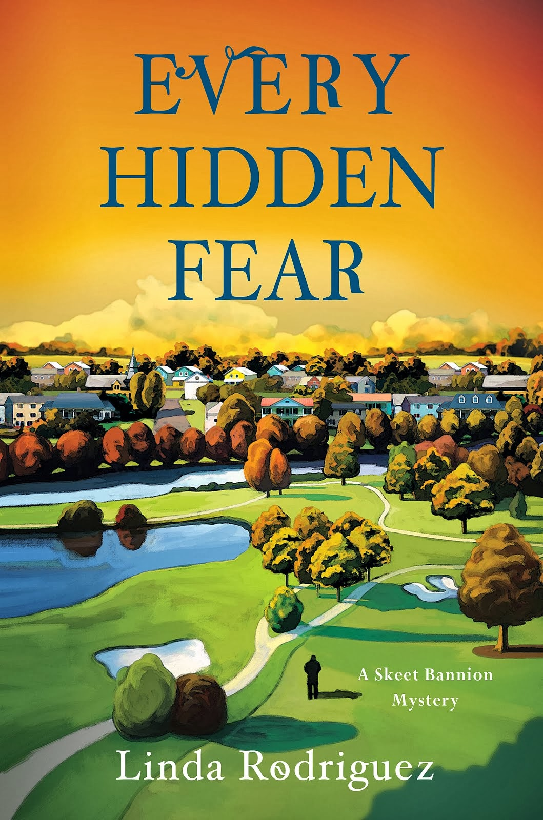 My third Skeet Bannion mystery novel, EVERY HIDDEN FEAR. Click on its image to order.