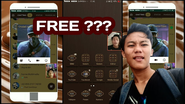 Download Theme Chocolate for Oppo, Deva Project