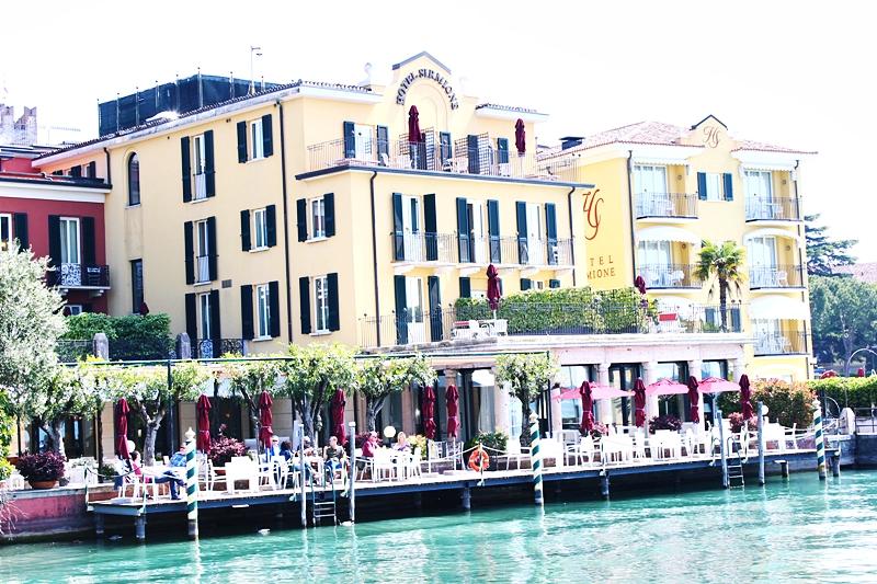 Hitel Sirmione,Garda lake Italy.