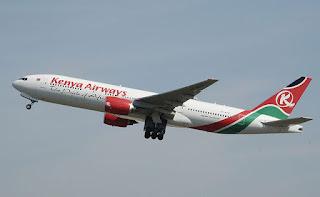 Kenya Airways Plane