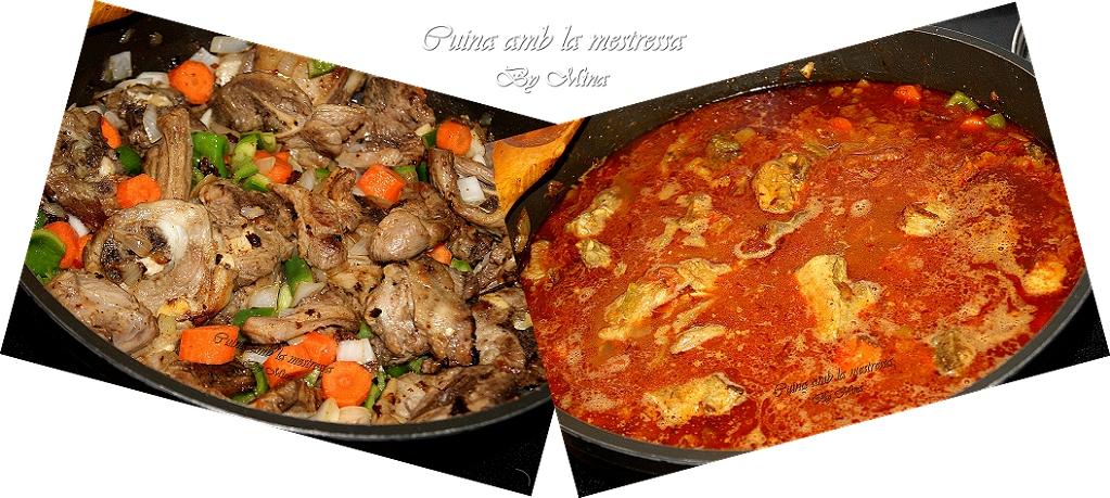 Cocina con mina caldereta de cordero al estilo marroqu - Cordero estilo marroqui ...
