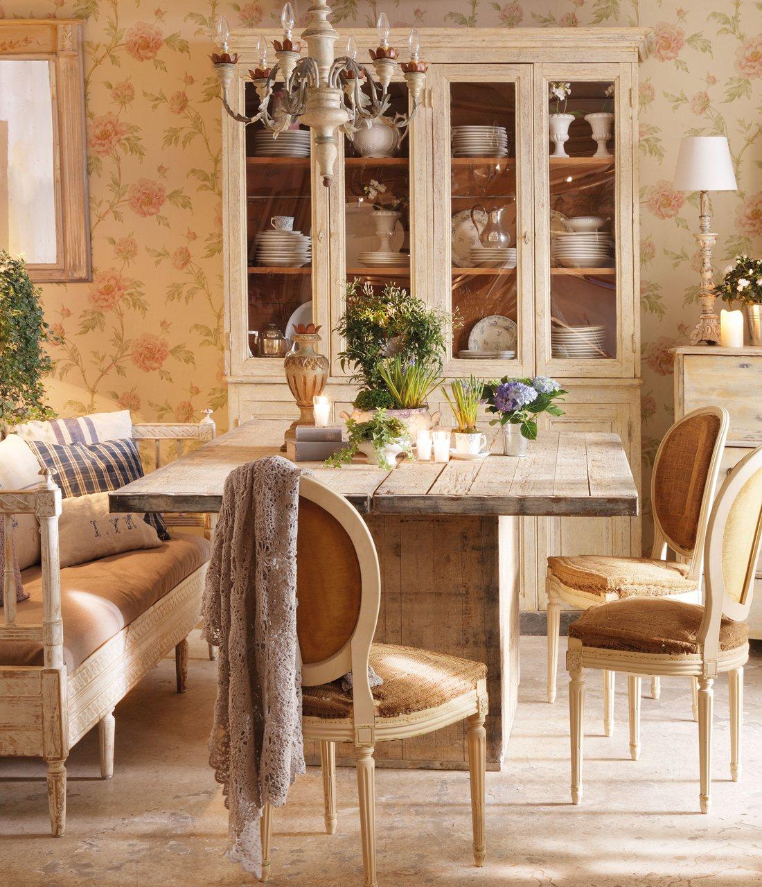 Inspirational homes jardim dentro de casa for Papel pintado para comedor