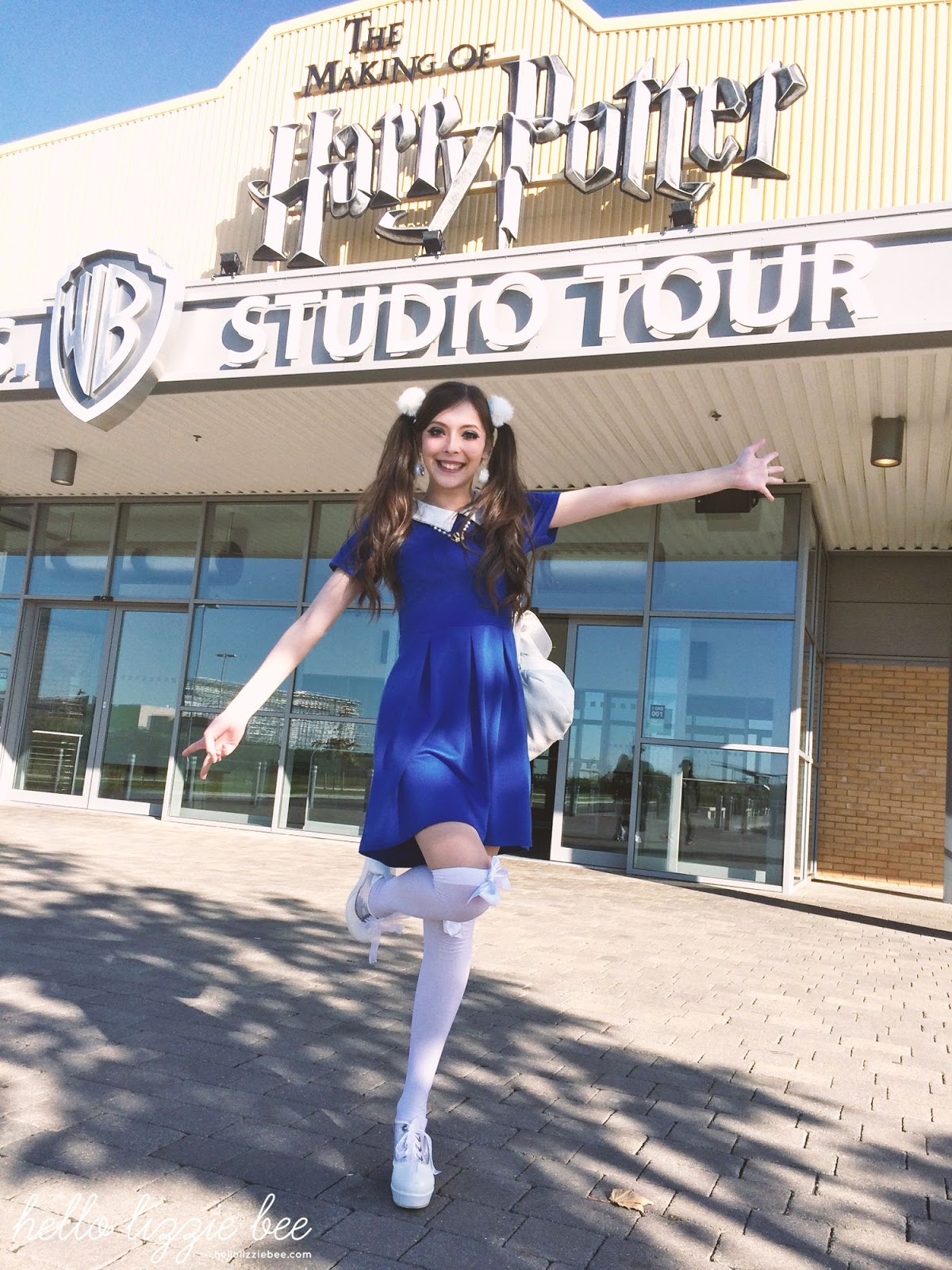 gaijin gyaru, swankiss, ravenclaw, harry potter studio tour