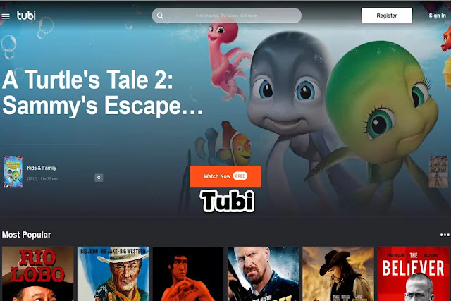 Tubi : Watch TV Online Free Streaming